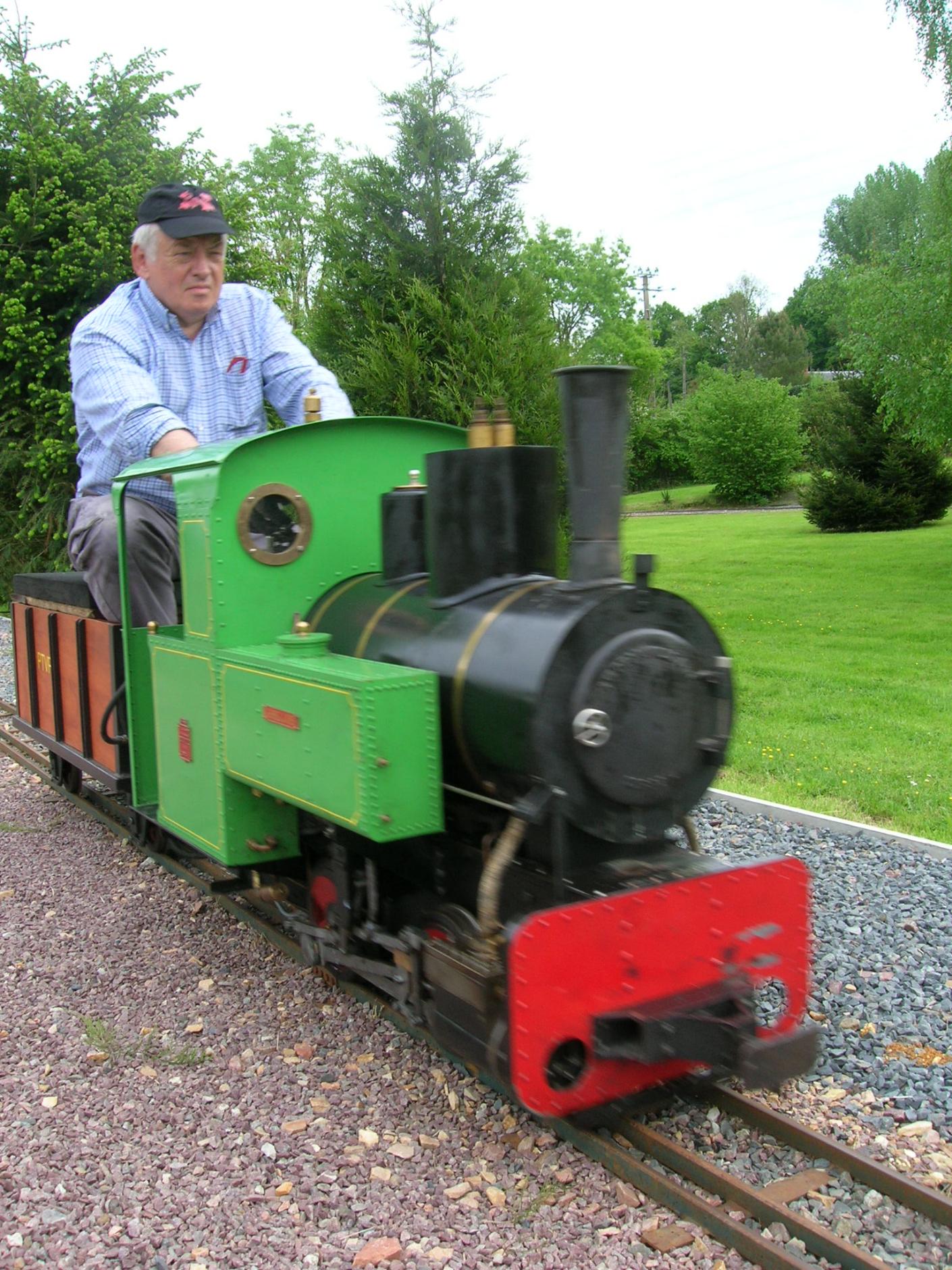 Les petits trains à vapeur du Pays d'Auge